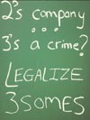 2's company, 3's a crime? Legalize 3somes