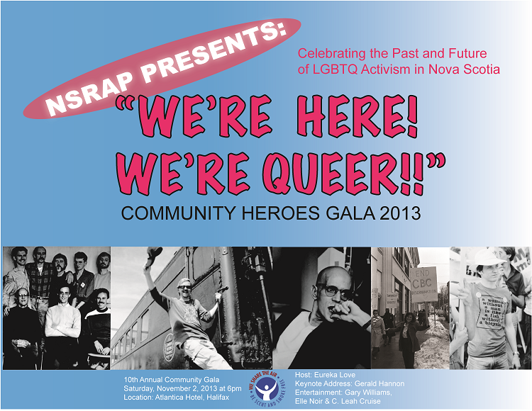 We're Here! We're Queer!! poster