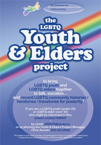 Youth Elders Launch Event Poster